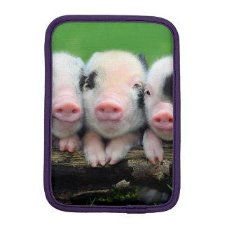 Three little pigs - cute pig - three pigs iPad mini sleeve