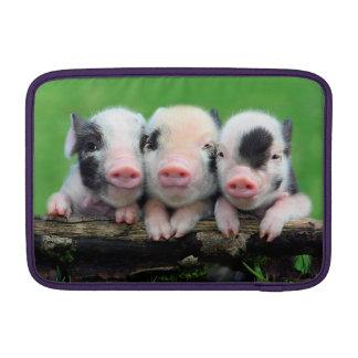 Three little pigs - cute pig - three pigs MacBook sleeve