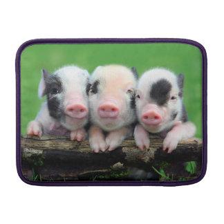 Three little pigs - cute pig - three pigs sleeve for MacBook air