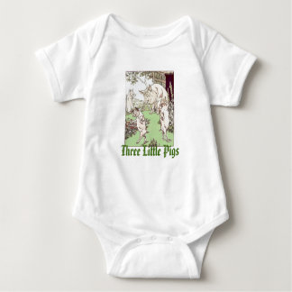 Three Little Pigs Infant Creeper
