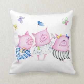 Three Little Pigs Pillow