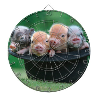 Three little pigs - three pigs - pig hat dartboard