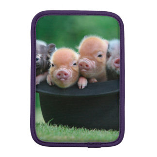 Three little pigs - three pigs - pig hat iPad mini sleeve