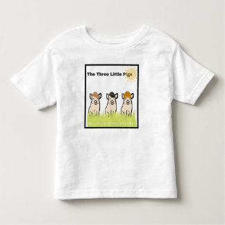 Three Little Pigs Toddler T-Shirt