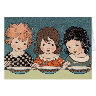 Three Little Sisters Notecard