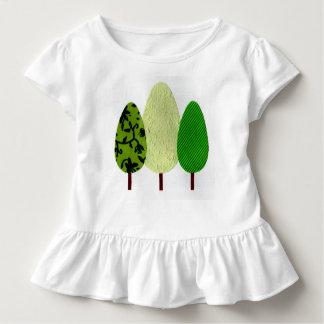 'Three Little Trees' Ruffle T-Shirt