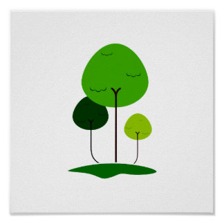 Three lollypop shaped tree eco design.png print