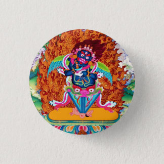 Three Major Saints Cool oriental Dorje Phurba 3 Cm Round Badge