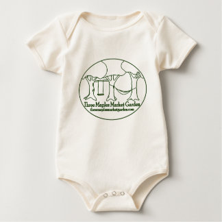 Three Maples Market Garden Baby Bodysuit