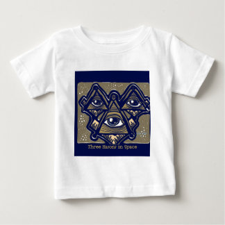 Three Masons in Space by ParanormalPrints Baby T-Shirt