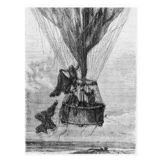 Three Men in a Gondola Postcard