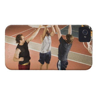 three men in athletic clothing playing iPhone 4 case