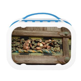 Three Monkeys Lunch Box