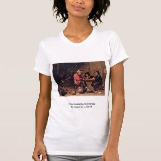 Three Musicians Are Farmers Tee Shirts