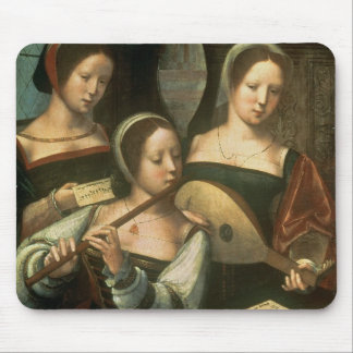 Three Musicians Mouse Pad