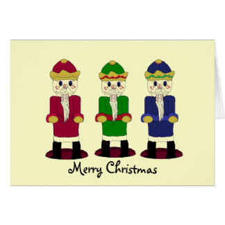Three Nutcrackers Card