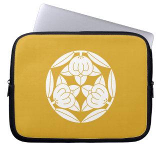 Three oranges laptop sleeve