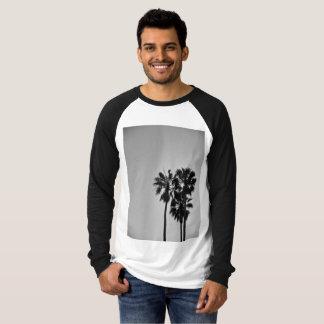 Three Palms Black and White T-Shirt