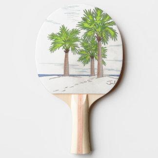 THREE PALMS Ping-Pong Paddle
