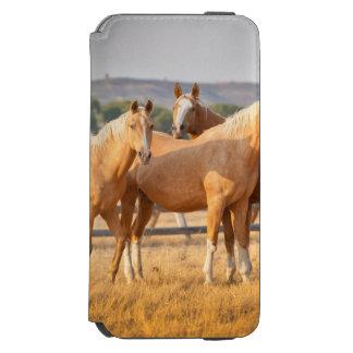 Three Palomino Ponies Incipio Watson™ iPhone 6 Wallet Case
