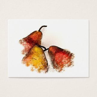 Three Pears Business Card
