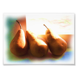 Three Pears Photo Print