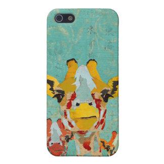 Three Peeking Giraffes i Cover For iPhone 5/5S