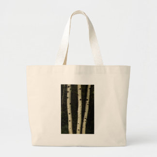 Three Pillars Of The Forest Large Tote Bag