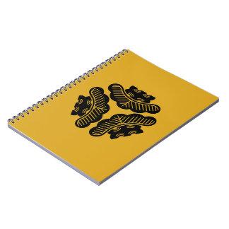 Three pines inward-facing notebook