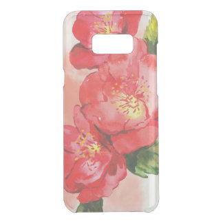 Three Pink and Red Watercolor Roses Uncommon Samsung Galaxy S8 Plus Case