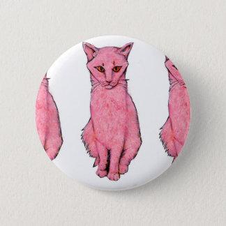 Three Pink Kitties 6 Cm Round Badge