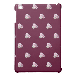 Three pink roses. Floral pattern. Case For The iPad Mini