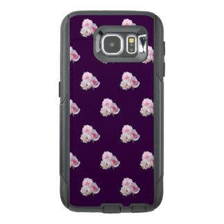Three pink roses. OtterBox samsung galaxy s6 case