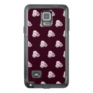 Three pink roses. OtterBox samsung note 4 case
