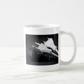 Three plugs mugs