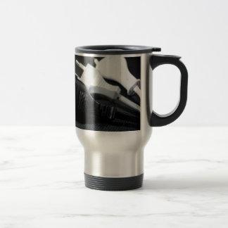 Three plugs coffee mug