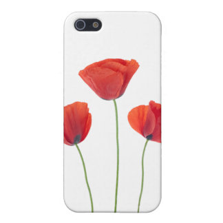 Three poppies iPhone 5/5S cover