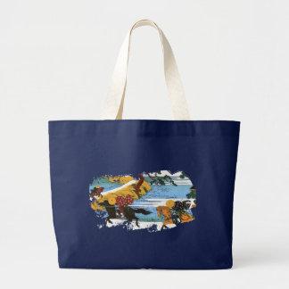 Three Riders 隅田川関屋の里 Jumbo Tote Bag