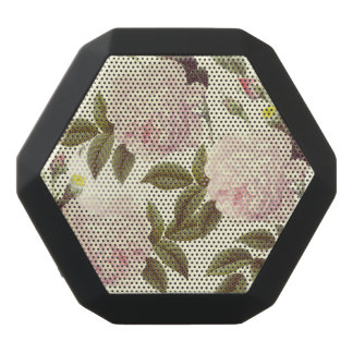 Three Rose Cream Black Bluetooth Speaker