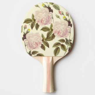 Three Rose Cream Ping Pong Paddle