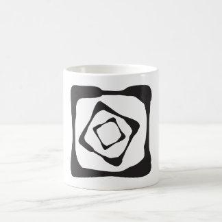 Three rough squares all in all coffee mug