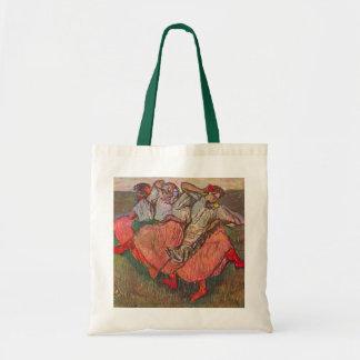 Three Russian Dancers by Edgar Degas Budget Tote Bag