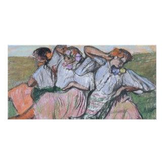 Three Russian Dancers by Edgar Degas Photo Greeting Card