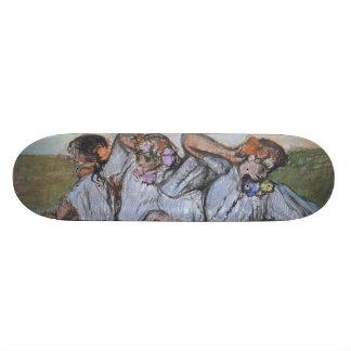 Three Russian Dancers by Edgar Degas Custom Skate Board
