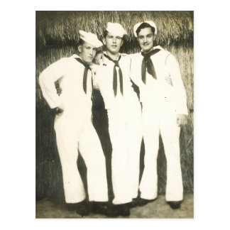 THREE SAILORS #13 POSTCARD