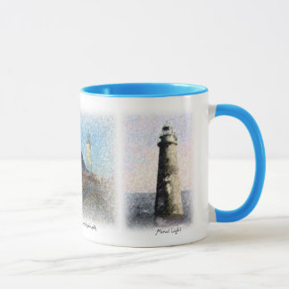 Three Scituate Landmarks  Mug