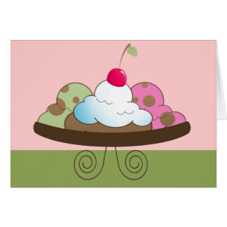 Three Scoops Card