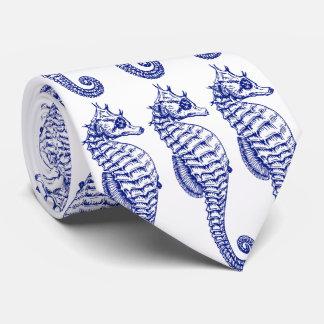 Three Seahorse Tie