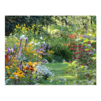 Three Secret Gardens Meet Postcard