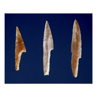 Three serrated points, from Volgu Poster